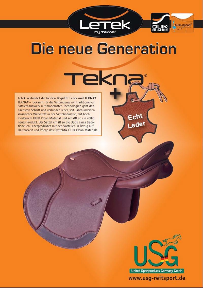 Letek Die neue Generation TEKNA bei Grüner Wald Reitsport Geschäft
