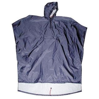 BLACK ROO Poncho EXPLORER, navy, one size